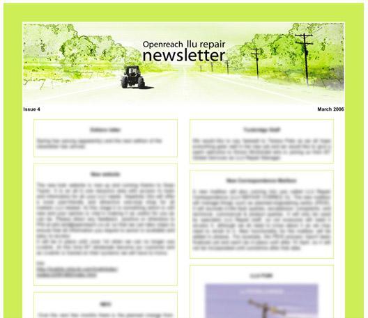 Openreach repair newsletter March